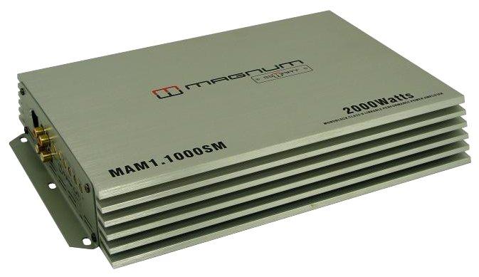 Автомобильный усилитель MAGNUM MAM 1.1000SM