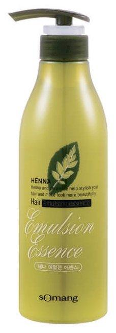 FLOR de MAN Эссенция для волос и кожи головы Henna Hair Emulsion Essence