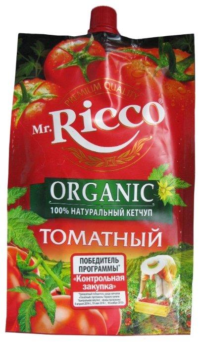 Кетчуп Mr.Ricco Томатный organiс, дой-пак