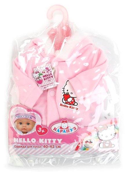 Карапуз Hello Kitty Теплый комбинезон для кукол 40 - 42 см B1226773