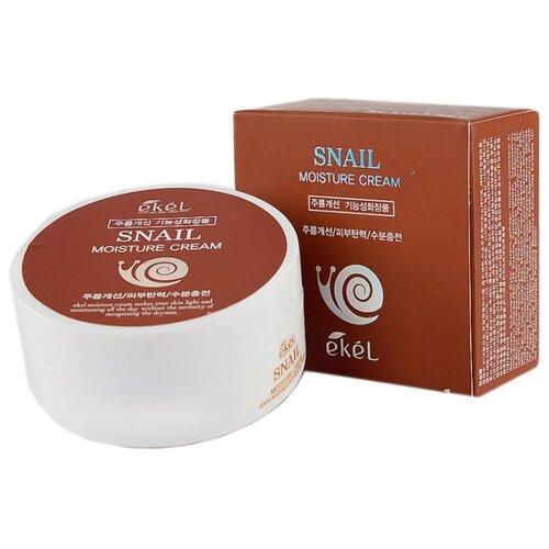 Купить Ekel Moisture Cream Snail Увлажняющий крем для лица с муцином улитки, 100 г