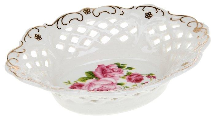 Best Home Porcelain Блюдо Цветочный аромат 17.5х13