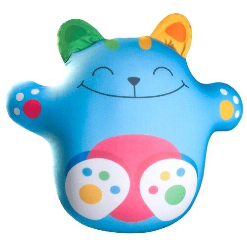 Игрушка-антистресс Мнушки Волшебный котик голубой 33 смМягкие игрушки<br>