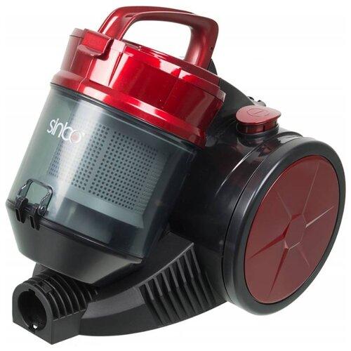 цена на Пылесос Sinbo SVC-3480 красный/черный