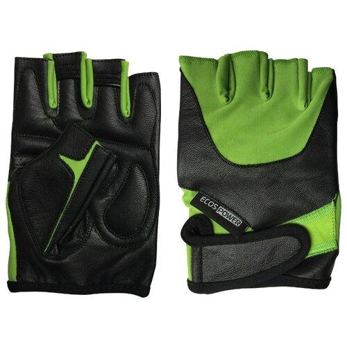 Перчатки ECOS Power 5102 зеленый/черный XL