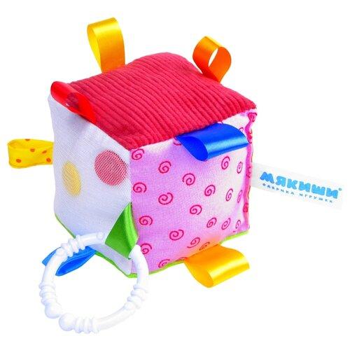 Подвесная игрушка Мякиши Кубик с петельками (264)Подвески<br>
