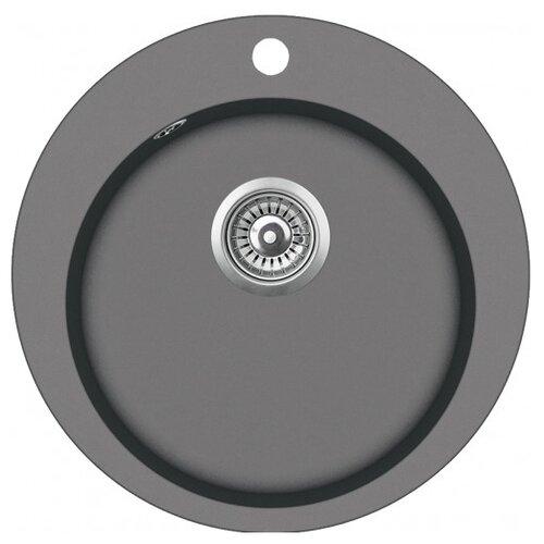 Врезная кухонная мойка 50.5 см TEKA Clave 45 B-TQ 1B графит кухонная мойка teka classic 1b mctxt
