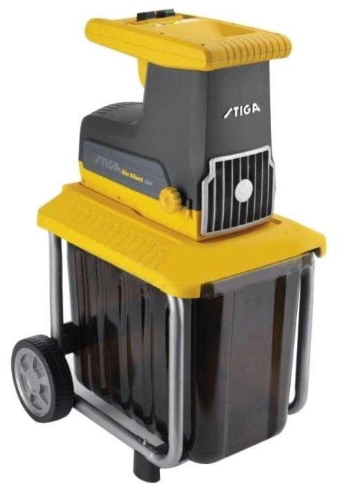 Измельчитель электрический STIGA BIO SILENT 2500 2.5 кВт