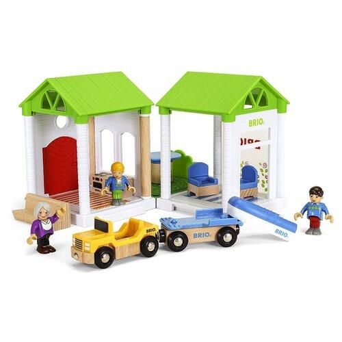 Игровой набор Brio Летняя дача 33953 игровой набор brio детская площадка 4 предмета