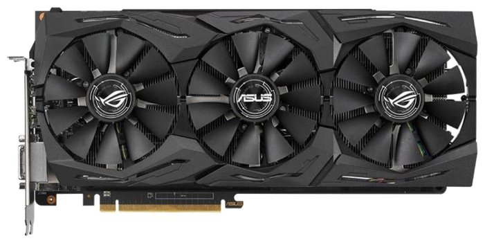 Видеокарта ASUS Radeon RX Vega 56 1297Mhz PCI-E 3.0 8192Mb 1600Mhz 2048 bit DVI 2xHDMI HDCP Strix Ga
