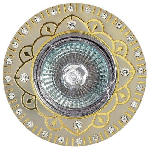 Встраиваемый светильник De Fran FT 194 SNG, сатин-никель / золотоВстраиваемые светильники<br>