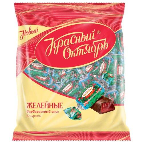 Конфеты Красный Октябрь Желейные со вкусом барбариса, пакет 250 г фото