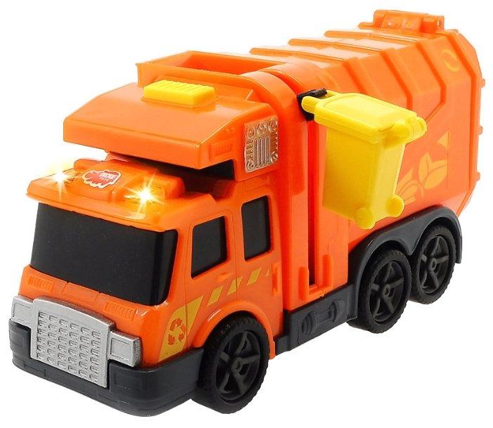 Мусоровоз Dickie Toys 3302000 15 см оранжевый