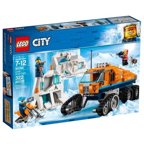 Конструктор LEGO City 60194 Грузовик ледовой разведки конструктор city lego lego mp002xb00c9t
