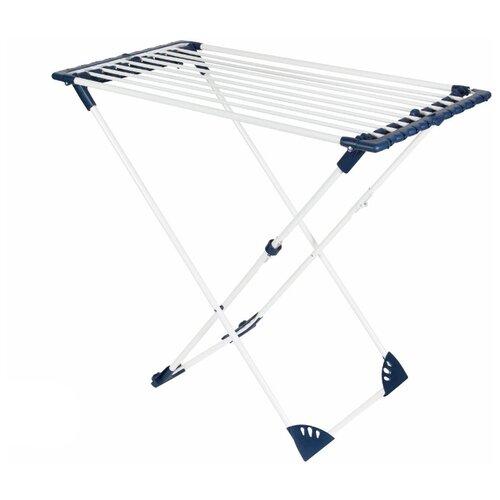 Сушилка для белья HAUSMANN напольная Aura Deluxe 22 м синий/стальнойСушилки для белья<br>
