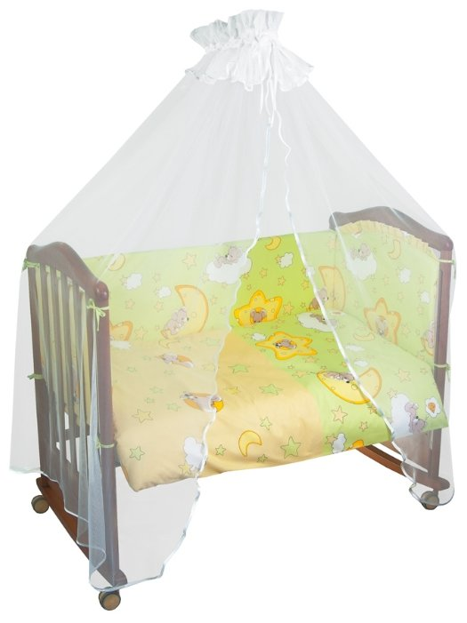 Балдахин для кроватки Сонный гномик 031