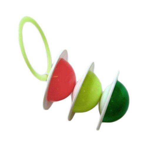 Погремушка Аэлита Светофор красный/салатовый/зеленый аэлита погремушка ромашка цвет розовый