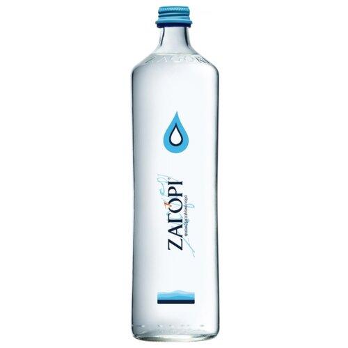 Фото - Минеральная вода Zagori негазированная, стекло, 1 л минеральная вода zagori газированная стекло 0 75 л