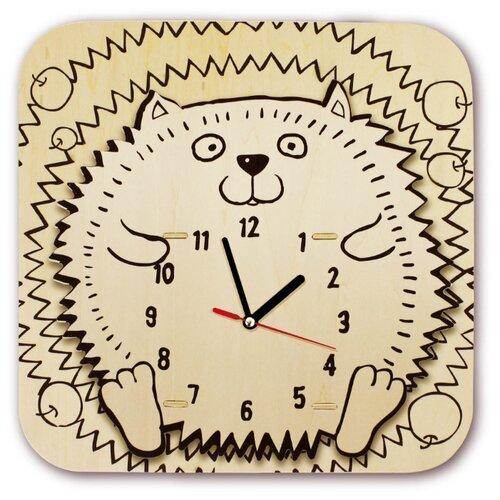 Купить Robotime Набор для росписи Часы-конструктор Ежик-раскраска (AC208P), Роспись предметов