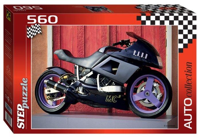 Пазл Step puzzle Auto Collection Мотоцикл (78071), 560 дет.