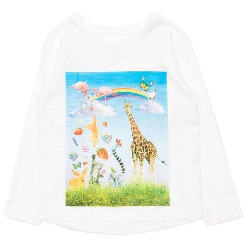Лонгслив Acoola размер 92, белый acoola acoola блузка для школы izhora белая