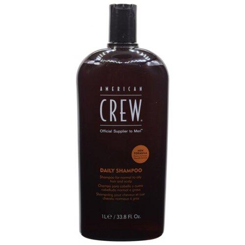 Фото - American Crew шампунь Daily для ежедневного ухода за нормальными и жирными волосами 1000 мл american crew шампунь для ежедневного ухода за волосами 450 мл american crew для тела и волос