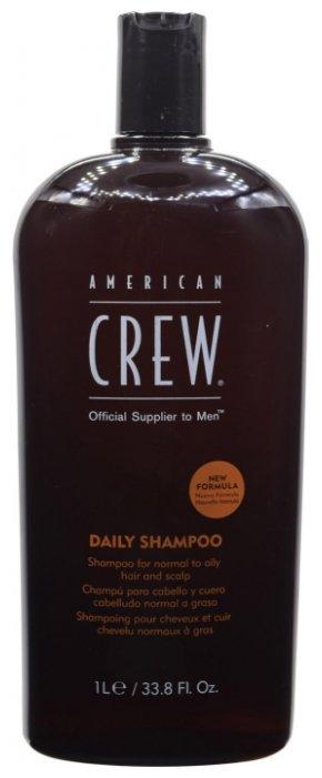 American Crew Daily Shampoo - Шампунь для ежедневного ухода за нормальными и жирными волосами 250 мл