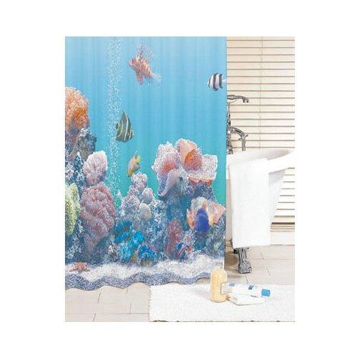 Фото - Штора для ванной IDDIS SCID190P 180x200 голубой штора для ванной iddis 680p18ri11 180x200 зеленый черный