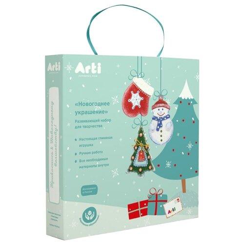 Купить Arti Набор для творчества Новогоднее украшение (Г000723), Роспись предметов