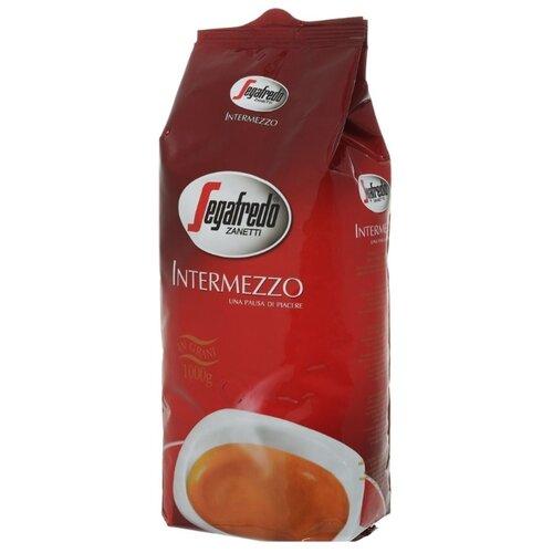 Фото - Кофе в зернах Segafredo Intermezzo, арабика/робуста, 1000 г segafredo intermezzo кофейный набор кофе молотый 250 г термокружка 400 мл