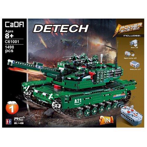 Конструктор Double Eagle CaDA deTECH C61001W Танк M1A2 Abrams 2в1 конструктор cada detech порше 918 421 деталь