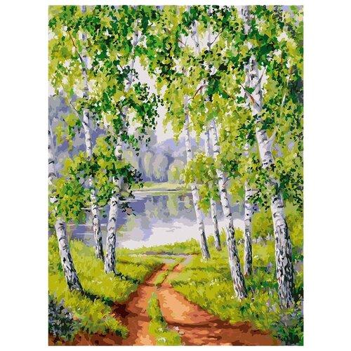 Купить Белоснежка Картина по номерам Из рощи 30х40 см (063-AS), Картины по номерам и контурам