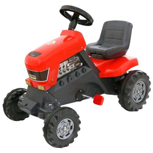 Купить Веломобиль Полесье Turbo (52674) красный/черный, Веломобили
