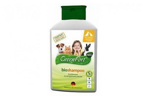 GreenFort БиоШампунь от эктопаразитов 380 мл