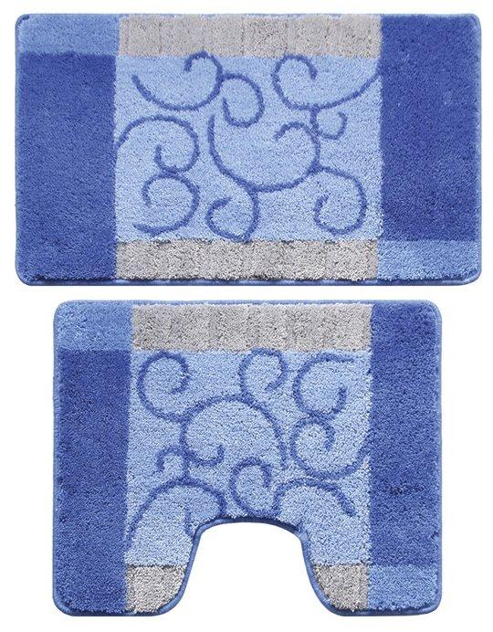 Комплект ковриков Milardo 350PA68M13, 50х80 см, 50х50 см