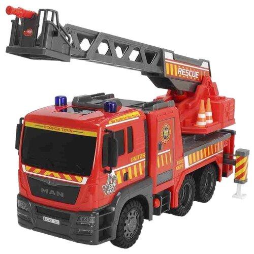 Пожарный автомобиль Dickie Toys Air Pump (3809007) 54 см красныйМашинки и техника<br>