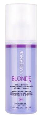 Coiffance Professionnel BLONDE Двухфазный увлажняющий спрей для светлых, обесцвеченных и седых волос