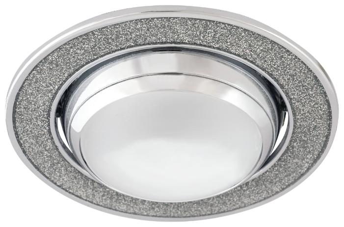 Встраиваемый светильник De Fran FT 834 E14 s, хром / серебро