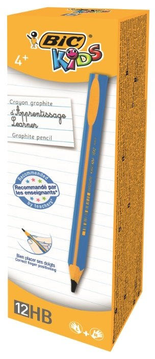 BIC Набор чернографитных карандашей Kids Blue 12 шт (919262)