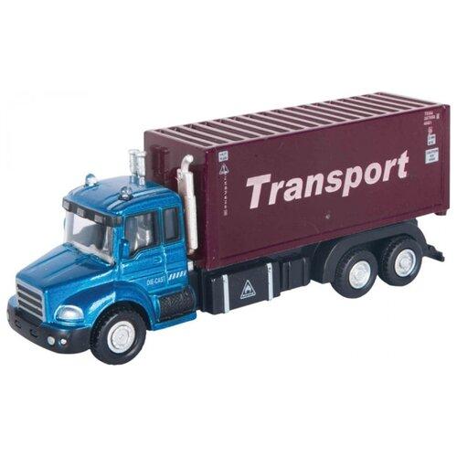 Купить Грузовик Autogrand Junior Motors Transport Truck контейнеровоз (34125) 1:48, Машинки и техника