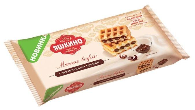 Мягкие вафли Яшкино с шоколадным кремом 120 г