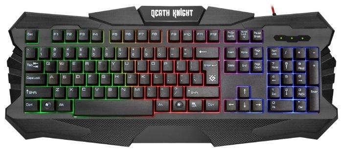 Клавиатура и мышь Defender Death Knight MKP-007 Black USB