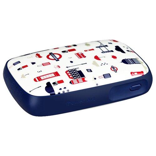 Аккумулятор MOMAX iPower Art 9000mAh, England Tour аккумулятор momax ipower air белый коробка