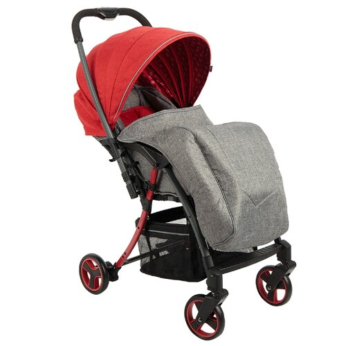 Прогулочная коляска Corol S-6 серый/красныйКоляски<br>