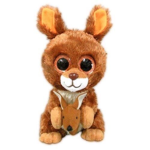 Мягкая игрушка Yangzhou Kingstone Toys Кенгурёнок коричневый 15 смМягкие игрушки<br>