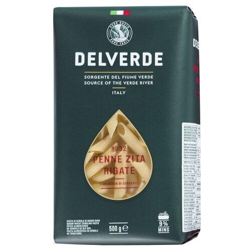 Delverde Industrie Alimentari Spa Макароны № 32 Penne Zita Rigate, 500 г макароны delverde spaghetti 141 с отрубями био 500 г