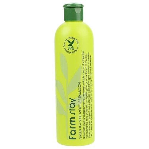 Купить Farmstay Green Tea Seed Moisture Emulsion Увлажняющая эмульсия для лица с семенами зеленого чая, 300 мл