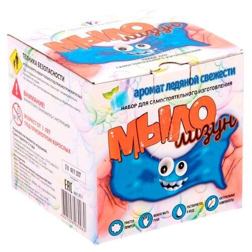Инновации для детей Мыло-лизун Ледяная свежесть (831) клоран гель для детей