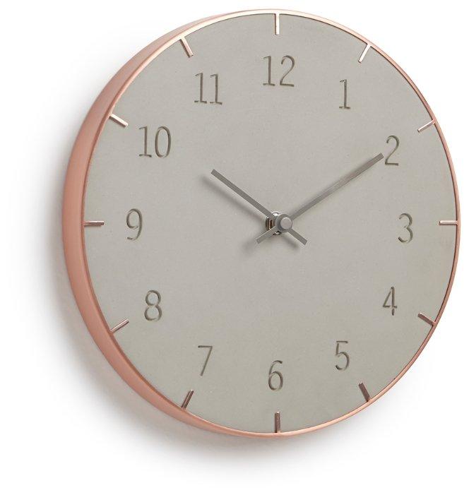 Часы настенные кварцевые Umbra Piatto 118421-713