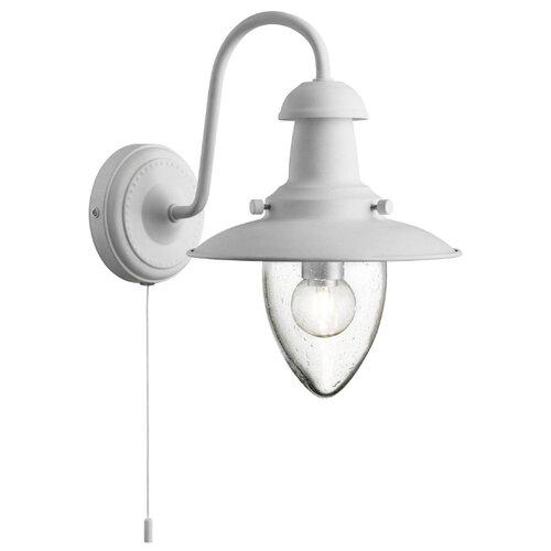 Настенный светильник Arte Lamp Fisherman A5518AP-1WH, 60 Вт бра arte lamp fisherman a5518ap 1ab